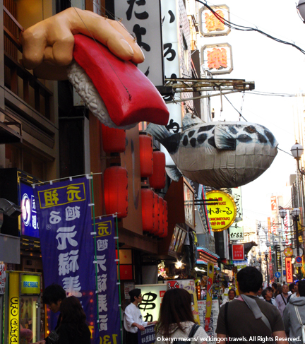 A Stroll Down Dotombori in Osaka