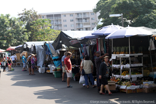Farmers Market in Hawaii: Kona's Sensual Smells Tempt Our Tastebuds; Walkingon Travels