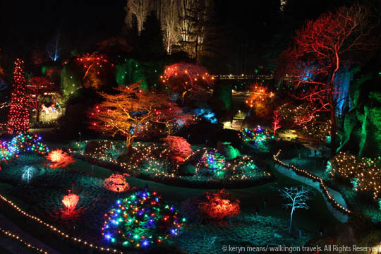 12 days of christmas at butchart gardens with a twist - Best time to visit butchart gardens ...
